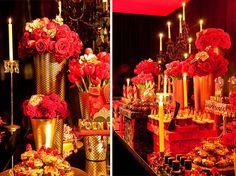 Chá de lingerie tema Moulin Rouge!