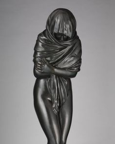 Jean Antoine Houdon Winter 1787 New York Metropolitan Museum of Art #winter #art #arthistory #sculpture #met