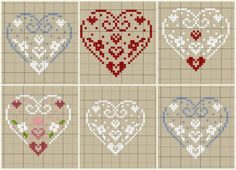 Brilliant Cross Stitch Embroidery Tips Ideas. Mesmerizing Cross Stitch Embroidery Tips Ideas. Xmas Cross Stitch, Cross Stitch Heart, Cross Stitch Samplers, Cross Stitching, Embroidery Hearts, Cross Stitch Embroidery, Embroidery Patterns, Cross Stitch Designs, Cross Stitch Patterns