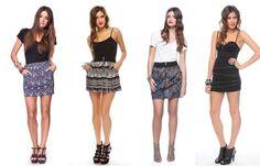 Faldas Juveniles De Moda Hermoso Modelos CentralMODA.COM