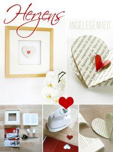 Gingered Things - DIY, Deko & Wohndesign: Gerahmtes Herz