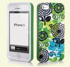 9faef557dfd9 Fashionable 3 in 1 Hardshell Snap-on Case Cover For iphone 5 5G Vera Bradley