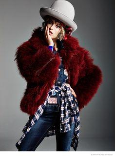 Soekie Gravenhorst Wears Tomboy Style for Glamour Netherlands by Klaas Jan Kliphuis