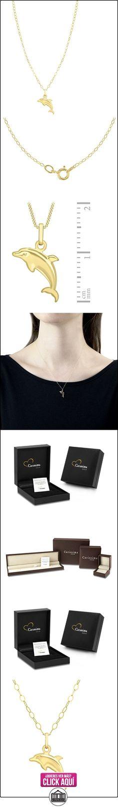 Carissima Gold Collar de mujer con oro amarillo de 9 quilates (375/1000), sin gema, 46 cm  ✿ Joyas para mujer - Las mejores ofertas ✿ ▬► Ver oferta: https://comprar.io/goto/B00879QU8M