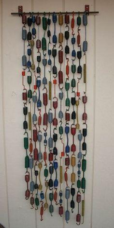 Painted springs