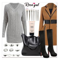 """""""Rosegal"""" by newoutfit ❤ liked on Polyvore featuring Winter, polyvoreeditorial, promotion, rosegal and PolyvoreMostStylish"""