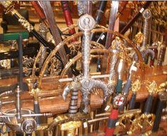 Toledo, sword shop