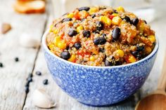 This Black Bean and Quinoa Chili Bowl merges the delicious wonders of a burrito bowl with the savory thickness of warm chili.
