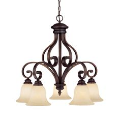 Shop Millennium Lighting  1215-RBZ Oxford 5 Light Chandelier at ATG Stores. Browse our chandeliers, all with free shipping and best price guaranteed.
