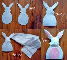 DIY Bunny Night Light to get your kids excited for Easter! Make it for their bedrooms with Candle Impressions Flameless Tea Lights. Very cute and very easy