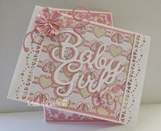 Blog tonic: Baby Girl - card from RUTH