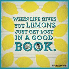 Hahaha...lemons is good with tea