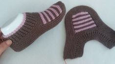 Baby Knitting Patterns, Baby Cardigan Knitting Pattern Free, Crochet Mittens Free Pattern, Knitting Stitches, Fabric Yarn, Crochet Baby Shoes, Shoe Pattern, Knitted Slippers, Crochet Designs