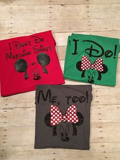 Disney Inspired Matching Family Shirts by HappyGoLuckyStudios