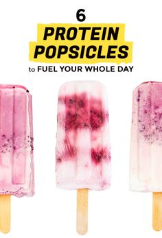 Make Healthy, Protein Popsicles for Breakfast | Extra Crispy