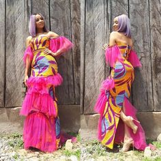 "460 Likes, 2 Comments - Ankara Styles By Mawuli (@ankarastyles) on Instagram: ""Ghana Artiste @sisterdeborah slaying The African Mermaid Outfit by @houseofpaon #ankarastyles"""