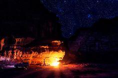 Desert night | Discovered from Dream Afar New Tab