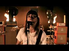 Vic Fuentes AND Jeremy McKinnon in the same song, yus sir. This one takes a while to grow on you, but it's good. Pierce The Veil - Carapherneila.