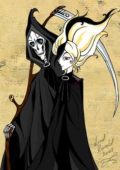 Death and Susan Sto-Helit, Terry Pratchett, Discworld.