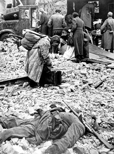 """""""To understand why the rape of Germany was so uniquely terrible, the context is essential. Operation Barbarossa, the Nazi invasion of Russia in 1941, began the most genocidal conflict in history. Perhaps 30 million inhabitants of the Soviet Union are now thought to have died during the war, including more than three million who were deliberately starved in German PoW camps."""""""