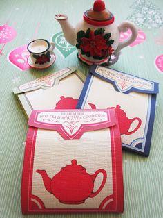 Homespun With Love: Tea Bag Envelopes