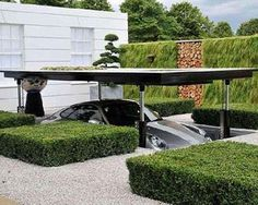 Batman's cave. Homes inspired by Movies