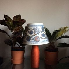 Handpainted unique Lampshade