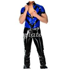 New Latex Rubber Hot Sale Handsome Natural Dark Blue Bound Neck Size:XXS-XXL