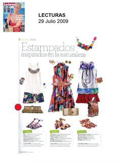 #Colaboraciones con la #Revista LECTURAS. Julio 2009.