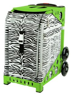 Zuca Bag Zebra Green Frame >>> Click image to review more details. This is an Amazon Affiliate links.