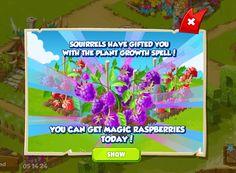 Magic raspberries today! http://wp.me/p2Wzyb-5I #happytale