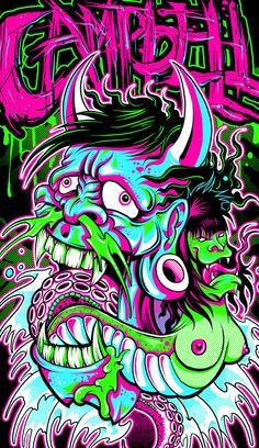 CAMPBELL oriental demons by mrchugchug on DeviantArt