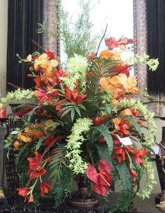 Silk Flower Arrangements | Everyone loves a Silk Flowers Floral arrangement…