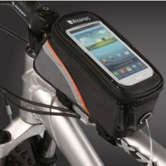 Weanas Roswheel Cycling Bike Bicycle Frame Pannier Front Top Tube Bag X Large Waterproof for iPhone Samsung 5.5 inch Mobile Phone http://www.amazon.com/gp/product/B00D87ECUQ