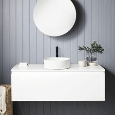 """Bunnings Warehouse on Instagram: """"Style for Style! Explore @cibo.design Glee Vanity Range to create a luxe for less bathroom design🤩 Tap to shop products!"""""""
