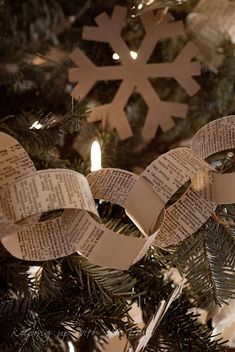 Home made christmas tree decorations/ornaments
