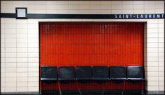 SAINT-LAURENT METRO STATION | VILLE-MARIE | MONTREAL | QUEBEC | CANADA: *Montreal Metro: Green Line*