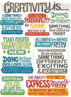 Coaching - Creativity is...