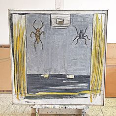 "Estudio ""Tábara"" Obras de Arte. Óleo. Medidas 110x110 cm. Año 1999. Info al 0969269562 Ing. Lalo Tábara. #arte #enriquetabara #tabara #obrasdearte #estudiotabara"