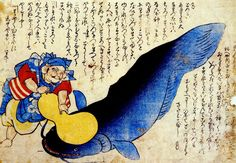 Namazu: spirito giapponese che crea i terremoti