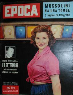 Epoca N°362 8 SET 1957 Luci Della Ribalta PER Giovanna Ralli Indro Montanelli   eBay