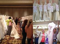Brides Against Breast Cancer - Browse hundreds of wedding dresses and help those affected by cancer on Jan. 25-26 in #Milwaukee. Click for more info! Milwaukee, Breast Cancer, Wedding Gowns, Brides, Homecoming Dresses Straps, The Bride, Wedding Dresses, Wedding Dressses, Bridal Gowns