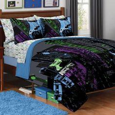 Rock Comforter Set--for Joey's Music bedroom