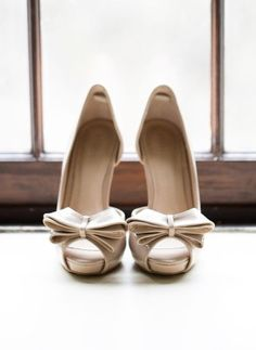 Wedding shoes idea; Featured Photographer: Karyn Louise Photography