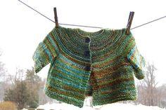 Elizabeth Zimmerman baby sweater