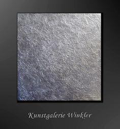 Abstrakte Gemälde Acrylbilder UNIKAT Strukturbild  von Kunstgalerie Winkler auf DaWanda.com