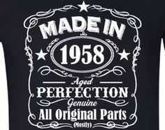 Made In 1950 65 Years Of Being Awesome T shirt Birthday Gift For Men Funny Custom Personalized Birthday Present 65 Mens Womens 65th Birthday Gift, Birthday Presents, Birthday Shirts, Birthday Ideas, Big Party, Cool T Shirts, Pure Products, Feelings, Funny