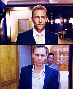 The Night Manager. I'm really loving the fact that Hugh Laurie is also in it.