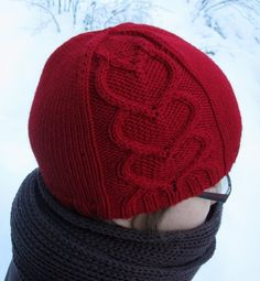 Rakkaudella sinun pattern by Tiina Kuu Valentine Hats, Hipster Hat, Knitting Patterns, Crochet Patterns, Knit Crochet, Crochet Hats, Diy Hat, Thread Work, Beanie Hats