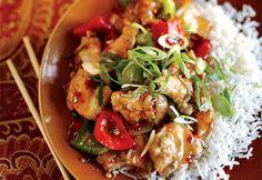 Recette Sauté de poulet aux poivrons - Coup de Pouce